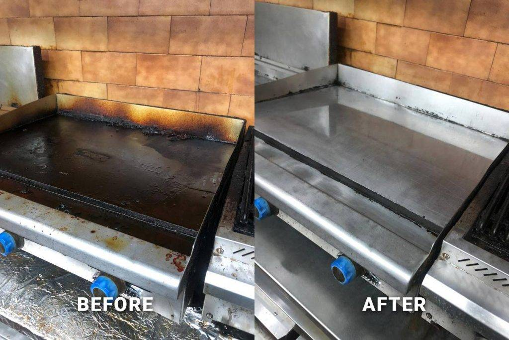Commercial kitchen cleaning in NJ, NY, and FL